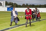 DBPC Polo in the Park 2012: The Knights of Middle England - preparations for the Jousting display.. Dallas Burston Polo Club, Stoneythorpe Estate, Southam, Warwickshire, United Kingdom, on 16 September 2012 at 13:55, image #171