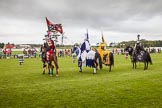 DBPC Polo in the Park 2012: The Knights of Middle England and their Jousting display.. Dallas Burston Polo Club, Stoneythorpe Estate, Southam, Warwickshire, United Kingdom, on 16 September 2012 at 14:14, image #179