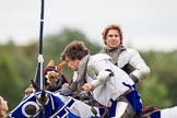 DBPC Polo in the Park 2012: The Knights of Middle England and their Jousting display.. Dallas Burston Polo Club, Stoneythorpe Estate, Southam, Warwickshire, United Kingdom, on 16 September 2012 at 14:20, image #183