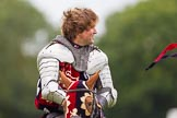 DBPC Polo in the Park 2012: The Knights of Middle England and their Jousting display.. Dallas Burston Polo Club, Stoneythorpe Estate, Southam, Warwickshire, United Kingdom, on 16 September 2012 at 14:20, image #184