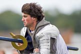 DBPC Polo in the Park 2012: The Knights of Middle England and their Jousting display.. Dallas Burston Polo Club, Stoneythorpe Estate, Southam, Warwickshire, United Kingdom, on 16 September 2012 at 14:24, image #189