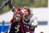 DBPC Polo in the Park 2012: The Knights of Middle England and their Jousting display.. Dallas Burston Polo Club, Stoneythorpe Estate, Southam, Warwickshire, United Kingdom, on 16 September 2012 at 14:25, image #191