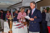 DBPC Polo in the Park 2012: Dr Dallas Burston and SallyAnn Burston at the price giving for the Dallas Burston Gold Cup Tournament.. Dallas Burston Polo Club, Stoneythorpe Estate, Southam, Warwickshire, United Kingdom, on 16 September 2012 at 18:09, image #306