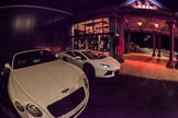 Grand Opening of the DBPC IXL Event Centre: A white Bentley and white Lamborghini Aventador next to the main entrance of the IXL Event Centre.. Dallas Burston Polo Club, Stoneythorpe Estate, Southam, Warwickshire, United Kingdom, on 05 December 2013 at 17:15, image #42