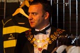 Grand Opening of the DBPC IXL Event Centre: Cllr J Ward, the Mayor of Southam, Warwickshire.. Dallas Burston Polo Club, Stoneythorpe Estate, Southam, Warwickshire, United Kingdom, on 05 December 2013 at 19:00, image #95