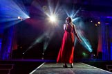 Grand Opening of the DBPC IXL Event Centre: Ava Leigh on stage.. Dallas Burston Polo Club, Stoneythorpe Estate, Southam, Warwickshire, United Kingdom, on 05 December 2013 at 21:11, image #156