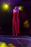 Grand Opening of the DBPC IXL Event Centre: Ava Leigh on stage.. Dallas Burston Polo Club, Stoneythorpe Estate, Southam, Warwickshire, United Kingdom, on 05 December 2013 at 21:23, image #167