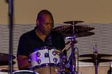 Grand Opening of the DBPC IXL Event Centre: Kym Mazelle & the Urban Blues Band - Delroi Dyer on drums.. Dallas Burston Polo Club, Stoneythorpe Estate, Southam, Warwickshire, United Kingdom, on 05 December 2013 at 21:44, image #193