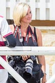 DBPC Polo in the Park 2013: Jane Collier, DBPC in-house photographer, covering the social side of Polo in the Park.. Dallas Burston Polo Club, , Southam, Warwickshire, United Kingdom, on 01 September 2013 at 12:40, image #209