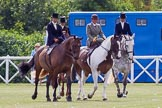 DBPC Polo in the Park 2013, side saddle riding demonstration by the The Side Saddle Association.. Dallas Burston Polo Club, , Southam, Warwickshire, United Kingdom, on 01 September 2013 at 12:48, image #212