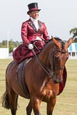 DBPC Polo in the Park 2013, side saddle riding demonstration by the The Side Saddle Association.. Dallas Burston Polo Club, , Southam, Warwickshire, United Kingdom, on 01 September 2013 at 13:05, image #304