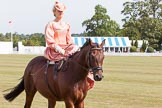 DBPC Polo in the Park 2013, side saddle riding demonstration by the The Side Saddle Association.. Dallas Burston Polo Club, , Southam, Warwickshire, United Kingdom, on 01 September 2013 at 13:05, image #310