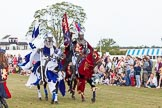 DBPC Polo in the Park 2013 - jousting display by the Knights of Middle England. Dallas Burston Polo Club, , Southam, Warwickshire, United Kingdom, on 01 September 2013 at 15:20, image #451