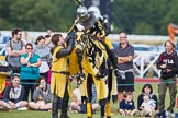 DBPC Polo in the Park 2013 - jousting display by the Knights of Middle England. Dallas Burston Polo Club, , Southam, Warwickshire, United Kingdom, on 01 September 2013 at 15:21, image #452