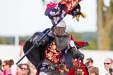 DBPC Polo in the Park 2013 - jousting display by the Knights of Middle England. Dallas Burston Polo Club, , Southam, Warwickshire, United Kingdom, on 01 September 2013 at 15:22, image #456