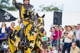 DBPC Polo in the Park 2013 - jousting display by the Knights of Middle England. Dallas Burston Polo Club, , Southam, Warwickshire, United Kingdom, on 01 September 2013 at 15:22, image #457