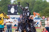 DBPC Polo in the Park 2013 - jousting display by the Knights of Middle England. Dallas Burston Polo Club, , Southam, Warwickshire, United Kingdom, on 01 September 2013 at 15:23, image #459