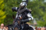 DBPC Polo in the Park 2013 - jousting display by the Knights of Middle England. Dallas Burston Polo Club, , Southam, Warwickshire, United Kingdom, on 01 September 2013 at 15:23, image #460