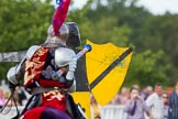 DBPC Polo in the Park 2013 - jousting display by the Knights of Middle England. Dallas Burston Polo Club, , Southam, Warwickshire, United Kingdom, on 01 September 2013 at 15:25, image #466
