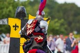 DBPC Polo in the Park 2013 - jousting display by the Knights of Middle England. Dallas Burston Polo Club, , Southam, Warwickshire, United Kingdom, on 01 September 2013 at 15:25, image #467