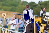 DBPC Polo in the Park 2013 - jousting display by the Knights of Middle England. Dallas Burston Polo Club, , Southam, Warwickshire, United Kingdom, on 01 September 2013 at 15:27, image #469