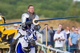 DBPC Polo in the Park 2013 - jousting display by the Knights of Middle England. Dallas Burston Polo Club, , Southam, Warwickshire, United Kingdom, on 01 September 2013 at 15:27, image #470