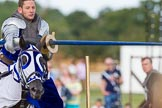 DBPC Polo in the Park 2013 - jousting display by the Knights of Middle England. Dallas Burston Polo Club, , Southam, Warwickshire, United Kingdom, on 01 September 2013 at 15:27, image #471
