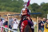 DBPC Polo in the Park 2013 - jousting display by the Knights of Middle England. Dallas Burston Polo Club, , Southam, Warwickshire, United Kingdom, on 01 September 2013 at 15:28, image #472