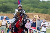 DBPC Polo in the Park 2013 - jousting display by the Knights of Middle England. Dallas Burston Polo Club, , Southam, Warwickshire, United Kingdom, on 01 September 2013 at 15:28, image #473