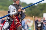 DBPC Polo in the Park 2013 - jousting display by the Knights of Middle England. Dallas Burston Polo Club, , Southam, Warwickshire, United Kingdom, on 01 September 2013 at 15:28, image #474