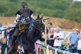 DBPC Polo in the Park 2013 - jousting display by the Knights of Middle England. Dallas Burston Polo Club, , Southam, Warwickshire, United Kingdom, on 01 September 2013 at 15:28, image #475