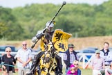 DBPC Polo in the Park 2013 - jousting display by the Knights of Middle England. Dallas Burston Polo Club, , Southam, Warwickshire, United Kingdom, on 01 September 2013 at 15:40, image #497
