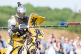 DBPC Polo in the Park 2013 - jousting display by the Knights of Middle England. Dallas Burston Polo Club, , Southam, Warwickshire, United Kingdom, on 01 September 2013 at 15:40, image #499