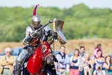 DBPC Polo in the Park 2013 - jousting display by the Knights of Middle England. Dallas Burston Polo Club, , Southam, Warwickshire, United Kingdom, on 01 September 2013 at 15:41, image #501