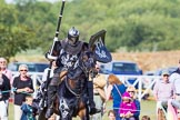 DBPC Polo in the Park 2013 - jousting display by the Knights of Middle England. Dallas Burston Polo Club, , Southam, Warwickshire, United Kingdom, on 01 September 2013 at 15:42, image #506
