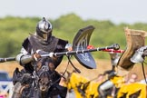 DBPC Polo in the Park 2013 - jousting display by the Knights of Middle England. Dallas Burston Polo Club, , Southam, Warwickshire, United Kingdom, on 01 September 2013 at 15:42, image #508