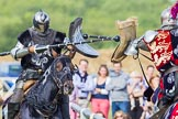 DBPC Polo in the Park 2013 - jousting display by the Knights of Middle England. Dallas Burston Polo Club, , Southam, Warwickshire, United Kingdom, on 01 September 2013 at 15:42, image #513