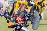 DBPC Polo in the Park 2013 - jousting display by the Knights of Middle England. Dallas Burston Polo Club, , Southam, Warwickshire, United Kingdom, on 01 September 2013 at 15:44, image #523