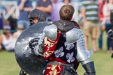DBPC Polo in the Park 2013 - jousting display by the Knights of Middle England. Dallas Burston Polo Club, , Southam, Warwickshire, United Kingdom, on 01 September 2013 at 15:44, image #529