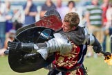 DBPC Polo in the Park 2013 - jousting display by the Knights of Middle England. Dallas Burston Polo Club, , Southam, Warwickshire, United Kingdom, on 01 September 2013 at 15:44, image #530