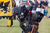 DBPC Polo in the Park 2013 - jousting display by the Knights of Middle England. Dallas Burston Polo Club, , Southam, Warwickshire, United Kingdom, on 01 September 2013 at 15:45, image #533