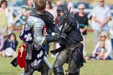 DBPC Polo in the Park 2013 - jousting display by the Knights of Middle England. Dallas Burston Polo Club, , Southam, Warwickshire, United Kingdom, on 01 September 2013 at 15:45, image #536