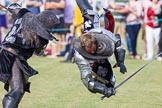 DBPC Polo in the Park 2013 - jousting display by the Knights of Middle England. Dallas Burston Polo Club, , Southam, Warwickshire, United Kingdom, on 01 September 2013 at 15:45, image #539