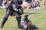 DBPC Polo in the Park 2013 - jousting display by the Knights of Middle England. Dallas Burston Polo Club, , Southam, Warwickshire, United Kingdom, on 01 September 2013 at 15:45, image #540