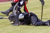 DBPC Polo in the Park 2013 - jousting display by the Knights of Middle England. Dallas Burston Polo Club, , Southam, Warwickshire, United Kingdom, on 01 September 2013 at 15:48, image #546
