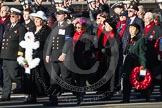Remembrance Sunday 2012 Cenotaph March Past: Group E3 - Merchant Navy Association.. Whitehall, Cenotaph, London SW1,  United Kingdom, on 11 November 2012 at 11:38, image #63