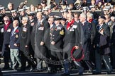 Remembrance Sunday 2012 Cenotaph March Past: Group E4 - Aircraft Handlers Association.. Whitehall, Cenotaph, London SW1,  United Kingdom, on 11 November 2012 at 11:39, image #77