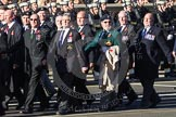 Remembrance Sunday 2012 Cenotaph March Past: Group E8 - The Fleet Air Arm Armourers Association, formed at the outbreak of WW2 to give firepower and air cover to the Atlantic convoys.. Whitehall, Cenotaph, London SW1,  United Kingdom, on 11 November 2012 at 11:39, image #94