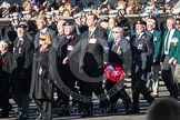 Remembrance Sunday 2012 Cenotaph March Past: Group E9 - Fleet Air Arm Association and E10 - Fleet Air Arm Bucaneer Association.. Whitehall, Cenotaph, London SW1,  United Kingdom, on 11 November 2012 at 11:39, image #98