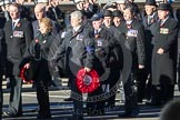 Remembrance Sunday 2012 Cenotaph March Past: Group E12 - Fleet Air Arm Junglie Association. Whitehall, Cenotaph, London SW1,  United Kingdom, on 11 November 2012 at 11:39, image #105